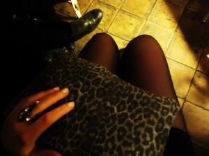 On a school night